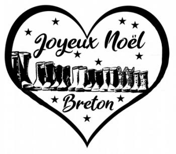 Illustration  noel en bretagne